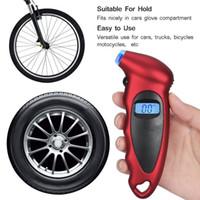 считыватель диагностического кода mercedes оптовых-ЖК-цифровой индикатор давления в шинах тестер шин воздуха Датчик давления TPMS Пневматические инструменты для автомобилей Motocycle велосипед электронный счетчик