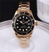 женские наручные часы оптовых-НОВЫЙ Высокое качество Известных Топ Часы Rolex Мужские Женские Часы Steel Band Мужчины Спортивные Часы Женщины Подарок БЕЗ Коробки A83