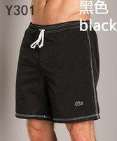 ingrosso bermuda svago-Gli uomini liberi di trasporto Shorts hanno stampato gli uomini di sport di svago degli uomini di alta qualità pantaloni della spiaggia Costumi da bagno Bermuda Lettera maschile Uomini di vita da surf Nuotare