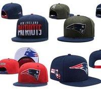 futbol takımları ingiltere toptan satış-2019 moda New England Beyzbol Snapback Tüm Takım Futbol Yapış geri Şapkalar Bayan Erkek Düz Kap strapback Hip Hop şapka Ucuz Spor Şapkalar
