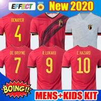 Wholesale belgium team resale online - 2020 Belgium Soccer Jersey HAZARD LUKAKU MERTENS Home VERMAELEN DE BRUYNE NAINGGOLAN National Team MAN KIDS FOOTBALL SHIRTS