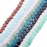 natürliche rosa lose perlen großhandel-Großhandel Naturstein Sterne Perlen 12mm Grün Blau Rosa Groß Lose Stein Spacer Perlen Für DIY Machen Armband Halskette Schmuck
