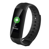 ip67 telefone celular à prova d'água venda por atacado-Para o iphone original 8 8 p samsung sony telefone móvel smart watch pulseira cd02 monitor de freqüência cardíaca rastreador de fitness ip67 banda à prova d 'água inteligente