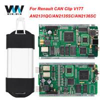 ingrosso l'attrezzo diagnostico renault può clip-Può fermare per V177 con AN2131QC AN2135SC Full Chip Renault OBDII strumento diagnostico OBD2 strumento di scansione automatica