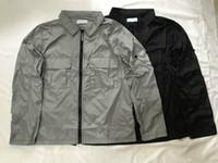 Wholesale long black arm sleeve for sale - Group buy 2020 mens luxury casual classic designer jackets men coats top metal nylon YKK zipper arm logo OEM design Waterproof Asian size man jacket