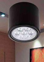 luzes led redondas venda por atacado-Dimmable 3 W / 5 W / 7 W / 12 W COB Rodada Downlight LEVOU Superfície Montada Cozinha Banheiro luz do Ponto da lâmpada fácil ajustar a cabeça leve AC85-265V LLFA