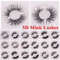Wholesale new eyes makeup resale online - New d Mink Eyelashes mm Long Mink Eyelash D Dramatic Thick Mink Lashes Handmade False Eyelash Eye Makeup Maquiagem LD Series and D