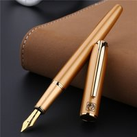 ingrosso penne stilografiche picasso-Picasso Iraurita Pennino Oro di alta qualità Penna a inchiostro di lusso Scrittura Firma Penna di calligrafia Confezione regalo Forniture per ufficio 03834