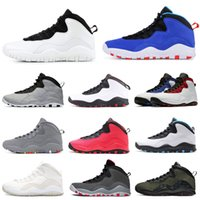 Wholesale dropshipping for shoes resale online - Tinker Smoke Grey Basketball shoes for men s Cement Westbrook PE chicago Athletic mens trainers Sport Sneakers dropshipping