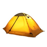 Wholesale waterproofing tents for camping for sale - Group buy Outdoor Camping Tent Double Layer Aluminum Rod Windproof Waterproof Tent Ultralight Ultralight Tents for Person