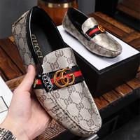 beanie de couro venda por atacado-2019 Sapatos masculinos de alta qualidade marca beanie shoes produção de couro qualidade incomparável vendas baratas de sapatos de caminhada
