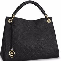 Wholesale neoprene bags resale online - ARTSY Top quality brand new women European and american luxury lady real Leather handbag tote bag purse MetIS design SPEEDY v09