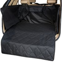 Wholesale dog car blankets resale online - Pet Dog Mat Waterproof Oxford Cloth Car Trunk Pet Pad Mat Carrier Cargo Liner Cover Pad Blanket Protector SUV Barrier