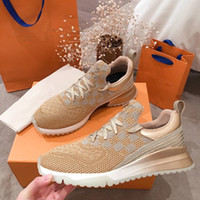 Wholesale running net sport resale online - Classic Leather Sneaker Men Running Sport Shoes Stylish slip resistant and Net surface comfortable Trainers with box Men Size
