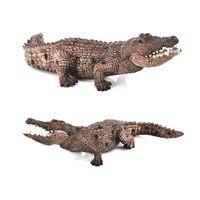 Wholesale giant soft toy rabbit for sale - Group buy Cross Border Solid Crocodile Jingang Model Toy Active Bite Crocodile Nile Crocodile Gorilla Prehistoric Giant Model
