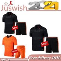 Wholesale football shirts holland resale online - Netherlands soccer jersey Euro DE JONG Holland football shirt DE LIGT VIRGIL STROOTMAN MEMPHIS PROMES kit uniforms