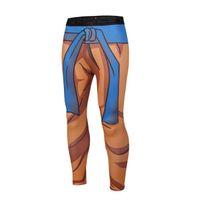 Wholesale tight yoga pants men online - Student Men Sport Pants Jogger D Printing Naruto Mens Yoga Pants Skinny Leggings Trousers Fashion Tights
