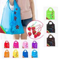 large size shopping bags großhandel-11 Farbe Home Storage Bag Large Size Wiederverwendbare Einkaufstüte Einkaufstasche Tragbare Falten Einkaufstaschen Praktische Tasche