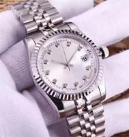 Wholesale Clock - luxury watch diamond automatic watches mens women lovers Mechanical Wristwatches famous designer ladies clock Montre de luxe orologio