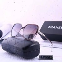 Wholesale unique eyewear for sale - Group buy Sunglasses women men Brand Designer Metal Frame Unique Hexagonal Flat lens Coating uv400 Sun glasses Goggle Eyewear with box and cases