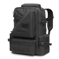 nylon wanderrucksack großhandel-45L Tactical Assault Pack Rucksack Molle Wasserdichte Hochleistungstasche Rucksack für Outdoor-Reisen Wandern Camping Jagd