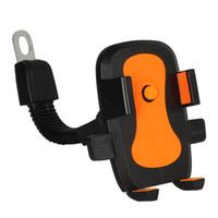 carregador de telefone de bicicleta venda por atacado-Bicicleta do carro do telefone móvel rack de moto carro elétrico geral-purpose mobile phone rack de navegação bicicleta de montanha direto da fábrica