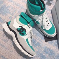 tren c toptan satış-Son erkek kadın tasarımcı tasarımcı çizmeler moda lüks tasarımcı marka ve ayak bileği çizmeler yüksek kalite ucuz ayakkabı eğitim ayakkabı süper