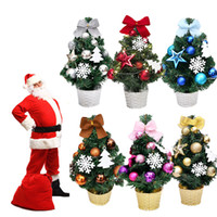 Wholesale christmas room decor for sale - Group buy LED Artificial Tabletop Mini Christmas Tree Decorations Festival Miniature Tree cm Home Decoration Accessories Room Decor