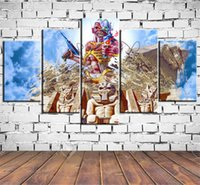 Wholesale Art Iron Maiden Pieces Home Decor HD Printed Modern Art Painting on Canvas Unframed Framed