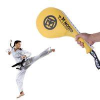 equipo de boxeo al por mayor-Niños Equipo de Taekwondo Karate Boxing pad pad PU rebote esponja doble Kick Boxing Pad Objetivo Kickboxing entrenamiento de la aptitud