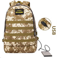 Wholesale free games online online - hot Online game Jedi survival Level Backpack Student Computer Bag Waterproof Camouflage Mountaineering Bag NO002