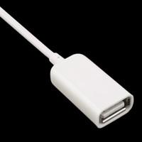 cable de extensión otg al por mayor-Forme 3.5mm para el enchufe de audio AUX. Jack USB al cable de extensión del usb del usb 2.0 Cable del cable del convertidor Cable MP3 OTG Envío libre de DHL