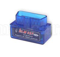 bluetooth arayüzü otomatik tarayıcı toptan satış-Araç Teşhis Aracı teşhis tarayıcı Mini ELM327 Bluetooth V2.1 OBD2 ELM 327 Bluetooth Arayüzü Oto Araba Tarayıcı KKA6701