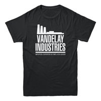 Wholesale white latex shorts for sale - Group buy Vandelay Industries Importer Latex Seinfeld TV Show Sitcom Funny Men s T shirt Funny Unisex Casual Tshirt