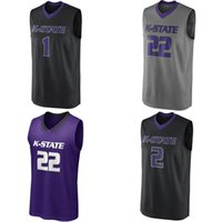 bc81d920521 Wholesale xavier jerseys for sale - Group buy Custom Kansas State Wildcats  College Basketball Jerseys Any