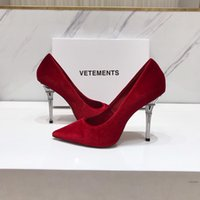botas de boda zapatos marfil al por mayor-Zapatos de boda de cuero genuino para mujer 10 cm VETE Tacones MENTS Piel de oveja Pares Eiffel para novia Boda Cumpleaños