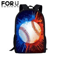 Wholesale cool kids backpacks for school for sale - Group buy FORUDESIGNS Cool footballs Soccer Printed School Bags for Teenage Boys Girls Schoolbag Children s Backpack Canvas Kids Book Bag