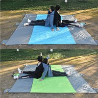 Wholesale camping ground mats for sale - Group buy Pocket Blanket Waterproof Beach Mat Blanket Ground Mat Mattress x267cm Portable Picnic Beach Outdoor Camping Tent
