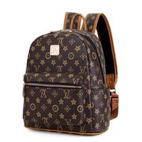 Wholesale cute small backpacks for women resale online - New Fashion Women Backpack Schoolbag Cute Small Backpack High Quality Leather Female Backpacks for Teenage Girls Rucksack