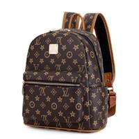 lindas mochilas pequeñas para mujeres al por mayor-Nueva moda mujeres mochila mochila linda pequeña mochila de alta calidad de cuero mochilas femeninas para adolescentes mochila