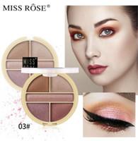 Wholesale eye shadow shimmer powder for sale - Group buy NEW MISS ROSE Eyeshadow Women Multifunction Sequins Eye Shadow Glitter Shiny Eyeshadow Golden Powder Color Cosmetics Tool