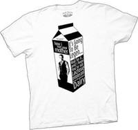 leite de leite venda por atacado-Homens adultos como eu conheci sua mãe Tv Show Leite Carton Legen-Dairy White T-shirt