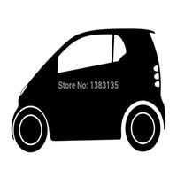 ko großhandel-HotMeiNi Wholesale 20pcs / lot 13 Farben Smart Aufkleber für Auto Fenster Rückspiegel LKW Auto SUVLaptop Kajak Gestanzte Tuning Styling