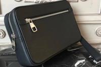 handgelenk kits großhandel-Damier Echtes Leder Kasai BAGS braun mono CANVAS TOILETRY Taschen Handfläche Handgelenke für Herren Handtaschen Frauen Clutch Bag m41663