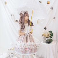 Wholesale women s western style dresses resale online – Best Selling Lolita Dress New Women Summer Autumn Gothic Vintage Japanese Sweet Girl Western Style Cute A line Long Sleeve Princess Dresses
