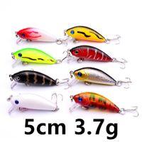 Wholesale fishing lures resale online - 8 Color cm g Minnow Fishing Hooks Fishhooks Hook Hard Baits Lures b