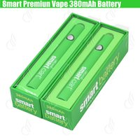 ladegeräte für e cigs großhandel-Neue Smart Cart Bio Premium Vape Batterie 380mAh VV vorheizen Variable Voltage Bottom USB-Ladegerät SmartCart 510 Dickes Öl e cigs Patrone