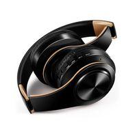 ingrosso jack auricolari-Hottest cuffia stereo senza fili Bluetooth Headset pieghevole auricolare animazione che mostra il supporto TF Costruire-in MIC jack da 3,5 mm per HUAWEI