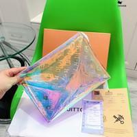 ingrosso borsa di gelatina piccola-Donne del sacchetto del crossbody delle donne del messaggero delle donne 2019 Bolsa Sacchetti di spalla di modo del PVC trasparente Lettera Jelly Candy Colore piccole borse Portafoglio delle signore