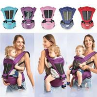 cinto de quadril do bebê venda por atacado-Pudcoco Baby Carrier Bag Tamborete de Cintura Walker Baby Sling Belt Infantil Segurar Hip Assento Respirável Ergonômico Envoltório Ajustável Mochila